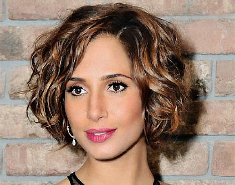 Awesome short bob hairstyles for thick coarse wavy hair with brown Haircut Ideas For Short Thick Wavy Hair Inspirations