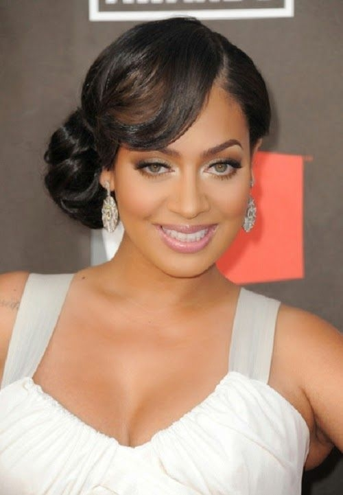 Awesome short bob hairstyles with bangs are perfect prom hairstyle Prom Hairstyles For Short Hair African American