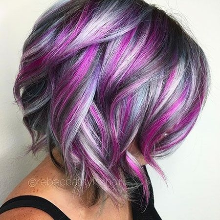 Awesome short cute color hair hair styles hair color crazy Short Haircuts With Color Ideas