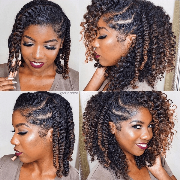 Awesome soooo pretty doing this style next protective African American Natural Hairstyles Twist Out Ideas