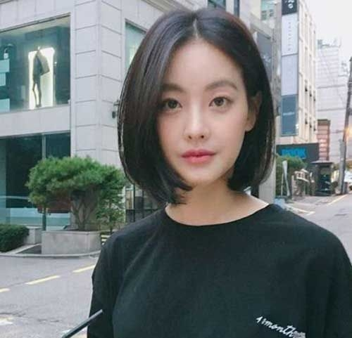 Awesome sptestens mit 20 kurzen geraden frisuren 2019 2019 Short Hairstyles For Fine Asian Hair Choices