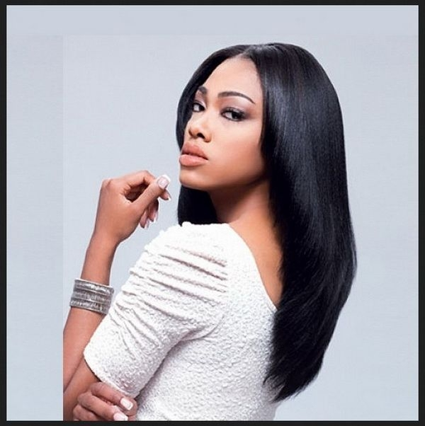 Awesome straight long hairstyles black women 2018 2019 long hair African American Hairstyles For Long Hair