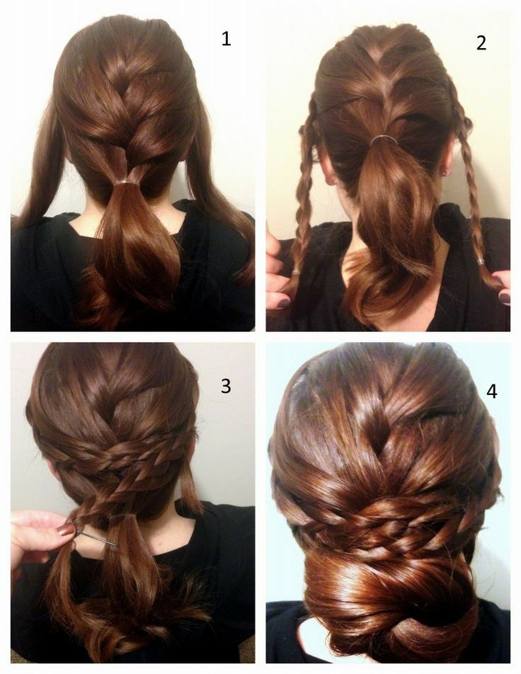 Awesome stunning braided updo hairstyle tutorial braided French Braid Bun Hairstyles Tutorial Ideas