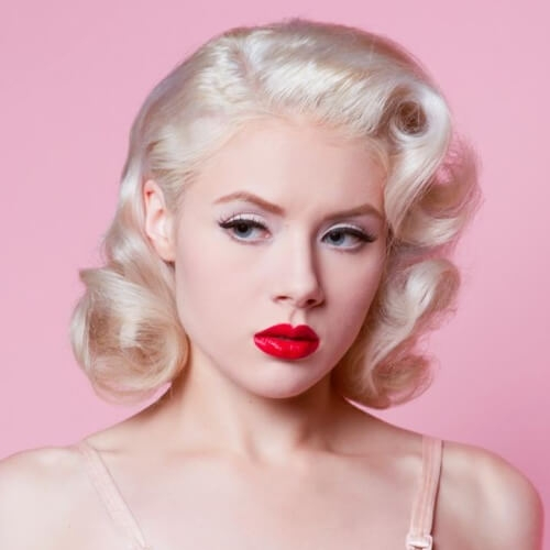 Awesome tap into that retro glam with these 50 pin up hairstyles Pin Up Style Short Hair Ideas