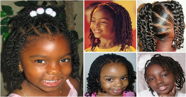Awesome twist hairstyles for black ba girl kids styles African American Baby Girl Hairstyles Ideas
