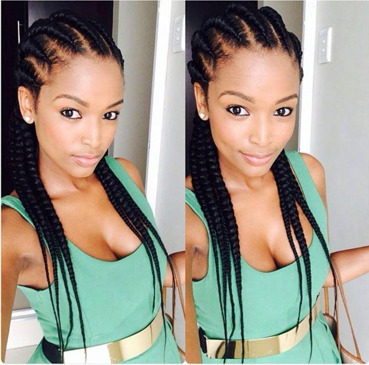ayanda ncube south african beauty braids cornrows hair South African Hair Cornrows