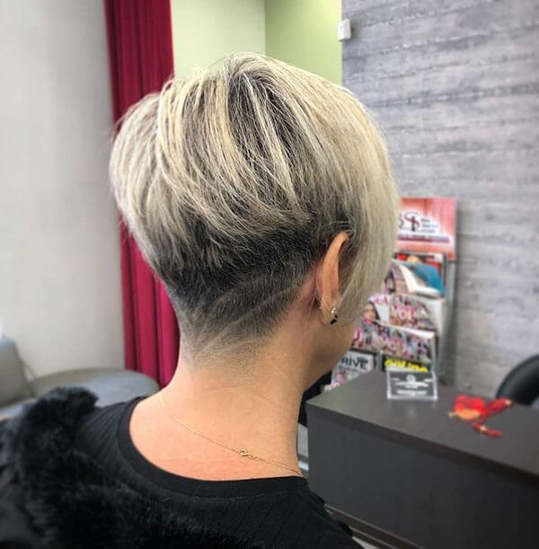 back view of short hair cuts 10 short haircuts models Short Haircut Styles Back View Ideas