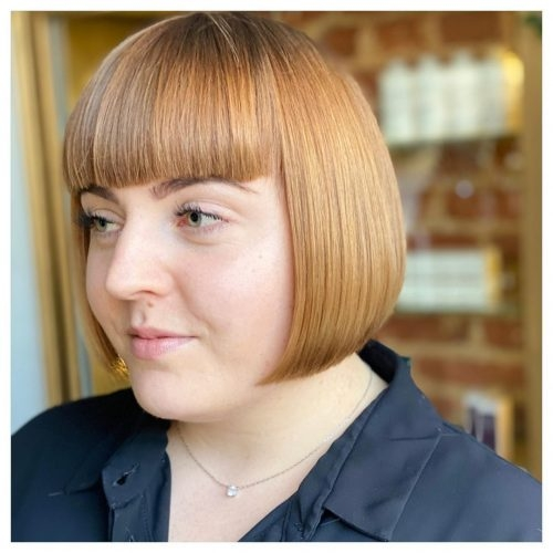 bangs for round face shapes 21 flattering haircuts Short Hairstyles For Round Faces With Bangs Ideas