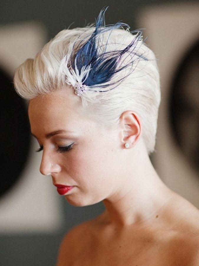 Best 10 wedding hairstyles 2020 for short hair popular Fascinators For Short Hair Styles Inspirations