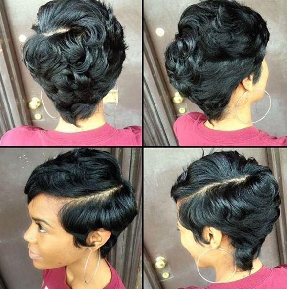 Best 1000 ideas about black women short hairstyles on pinterest Pinterest African American Short Hairstyles Ideas