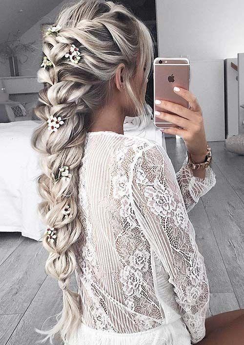 Best 1000 ideas about fishtail braid wedding on pinterest Fishtail Braid Hairstyles For Wedding Ideas