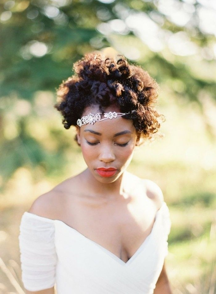 Best 12 short hairstyles for natural hair brides natural Short Natural Hair Wedding Styles Inspirations