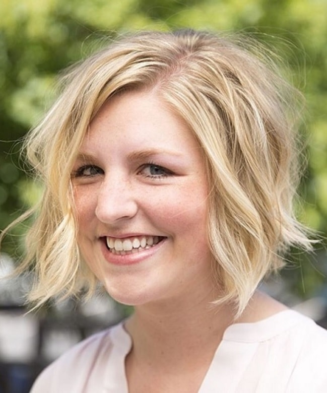 Best 12 supercilious short hairstyles for women with fat faces Short Haircuts For Fat Women Inspirations