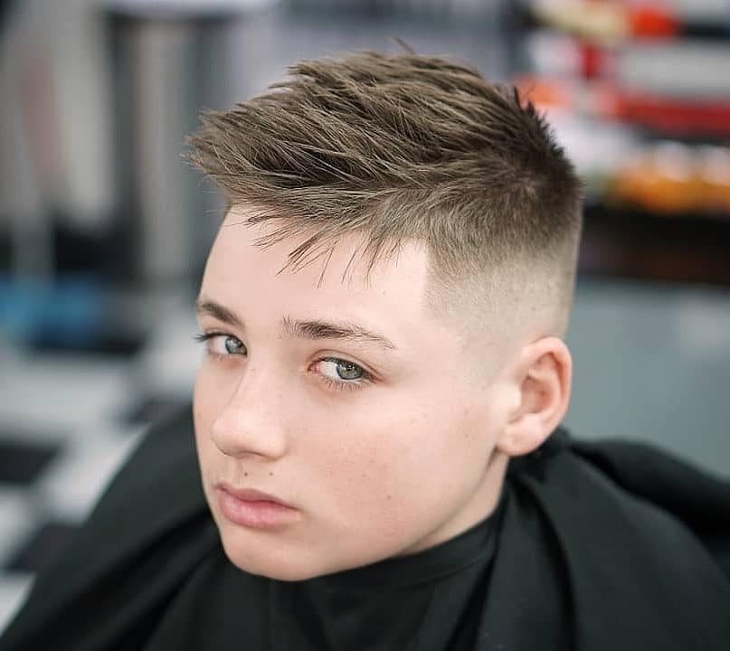 Best 15 teen boy haircuts that are super cool stylish for 2020 Short Hairstyles For Teenage Guys Choices