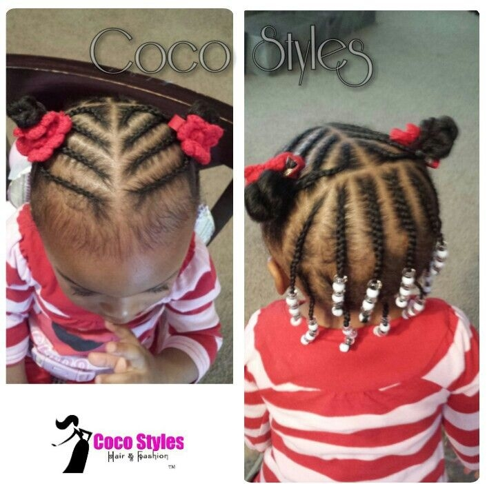 Best 20 braids with beads for kids ideas natural hairstyles Braiding Styles For Kids With Short Hair Ideas