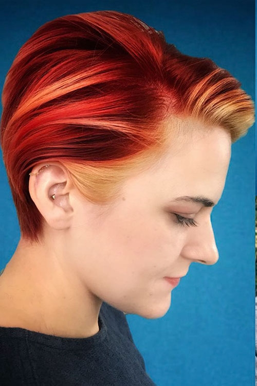 Best 20 charming and hot short red hair pictures in 2020 short Images Of Short Red Hairstyles Choices