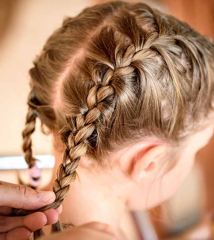 Best 20 quick and easy braids for kids tutorial included Simple Braided Hairstyles For Toddlers Choices
