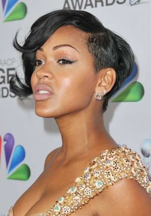 Best 2014 meagan goods short hairstyles trendy haircut for Megan Good Short Hair Styles Inspirations
