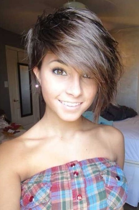Best 22 hottest short hairstyles for women 2021 trendy short Cute Short Hairstyles With Long Bangs Inspirations