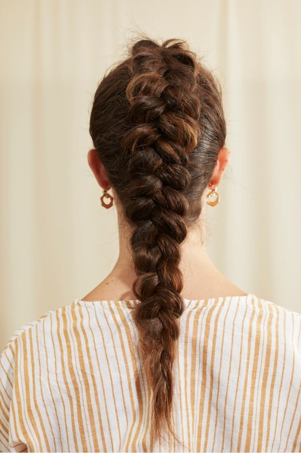 Best 22 seriously easy braids for long hair 2019 update Easy Braided Hairstyles To Do At Home Step By Step Choices