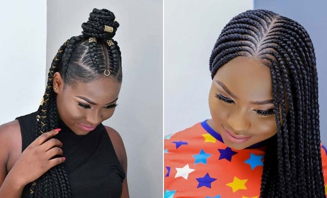 Best 23 african hair braiding styles were loving right now Braids Styles For Black Hair Choices