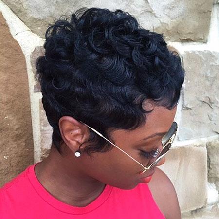 Best 23 cute short hairstyles for black women short hairstyles Cute Short Black Hairstyles Ideas