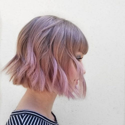 Best 23 short hair with bangs hairstyle ideas photos included Hairstyle For Short Hair With Side Bangs Ideas