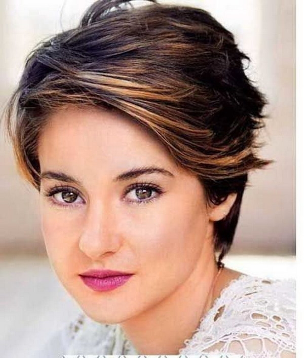 Best 25 beautiful short haircuts for round faces 2017 Best Short Hairstyle For Round Face Female Inspirations
