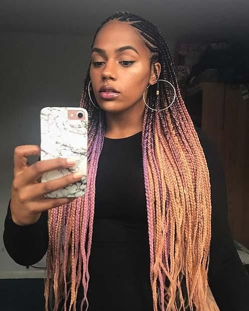 Best 25 best black braided hairstyles to copy in 2018 hair Best Black Braid Hairstyles Inspirations