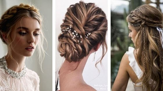 Best 25 braided hairstyles for summer weddings belletag French Braid Hairstyles For Weddings Choices