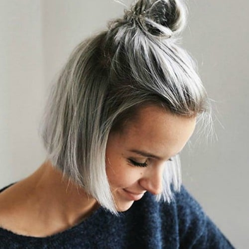 Best 25 chic short hairstyles for thick hair in 2020 the trend Cute Simple Hairstyles For Short Thick Hair Choices