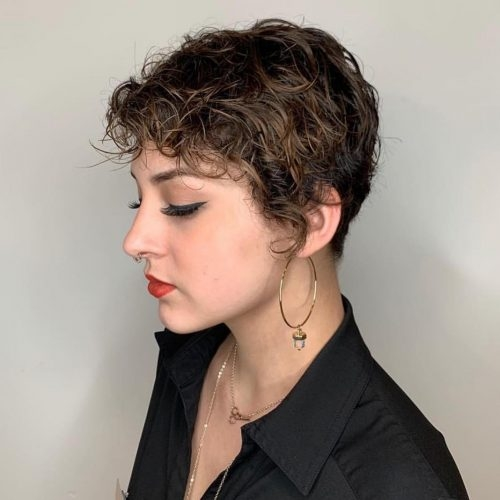 Best 29 short curly hairstyles to enhance your face shape Short Haircuts Curly Hair Choices