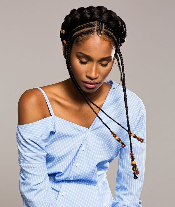 Best 30 best braided hairstyles for women in 2020 the trend spotter Braid Black Hair Hairstyles Female Choices