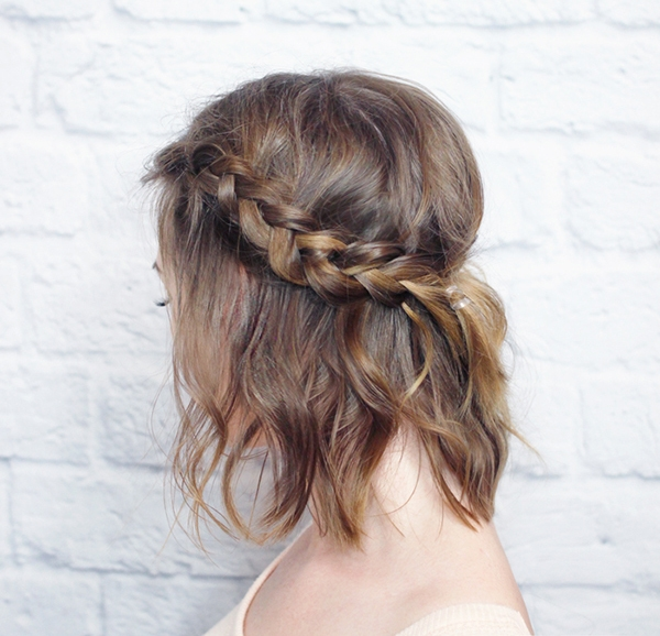 Best 30 best prom hairstyles for short hair more Prom Hairstyles For Short Hair With Braids Inspirations