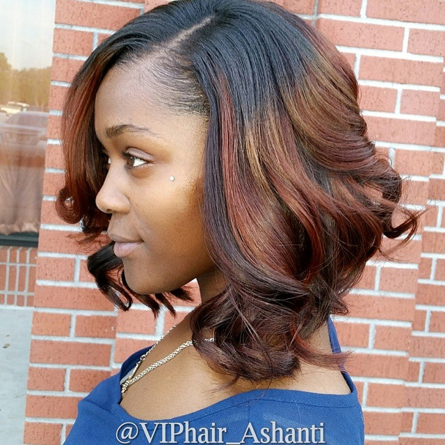 Best 30 trendy bob hairstyles for african american women 2021 Layered Haircuts For African American Hair Ideas