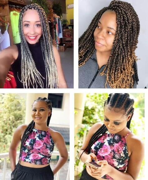 Best 39 lovely african braids hairstyles for black women in African Braids Hairstyle For Girls I Inspirations