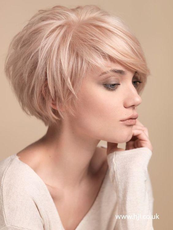 Best 40 best short hairstyles for fine hair 2020 Short Haircut For Fine Hair Ideas