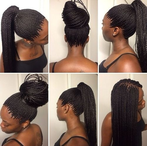 Best 40 chic twist hairstyles for natural hair twist hairstyles Braid Styles For Thin Black Hair Ideas
