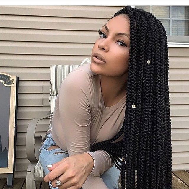 Best 41inch crochet hair extensions synthetic crochet braids one Braided Hair Extensions Styles Choices