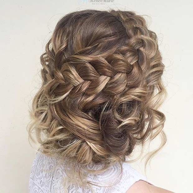 Best 47 gorgeous prom hairstyles for long hair stayglam prom Wedding Prom Hairstyle For Long Hair. Braided Updo Inspirations