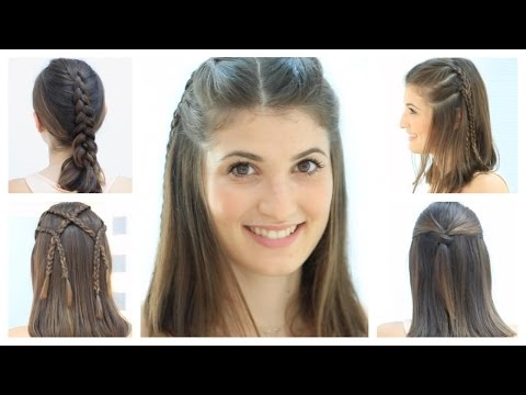 Best 5 hairstyles for short hair youtube Easy Hair Style For Short Hair Inspirations
