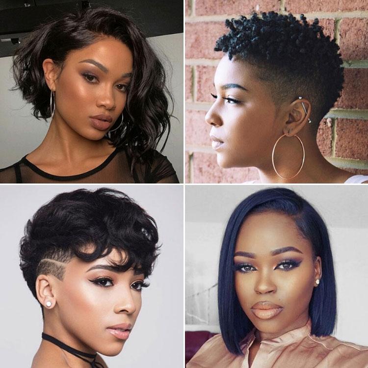 Best 50 best short hairstyles for black women 2020 guide Short Haircuts Black Female Ideas