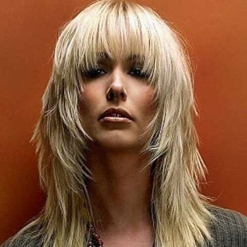 Best 50 extraordinary ways to rock long hair with bangs hair Long Hair With Short Layers On Top And Side Bangs Inspirations