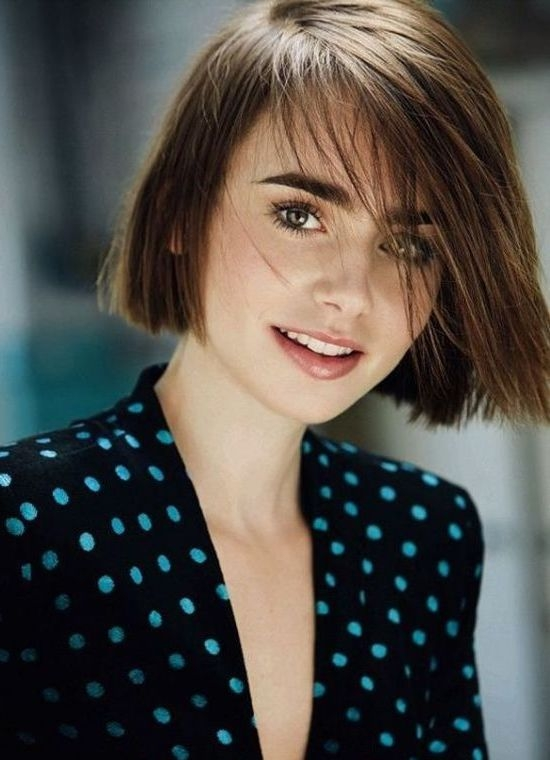 Best 50 gorgeous short haircuts for round faces Short Haircuts On Round Faces Inspirations