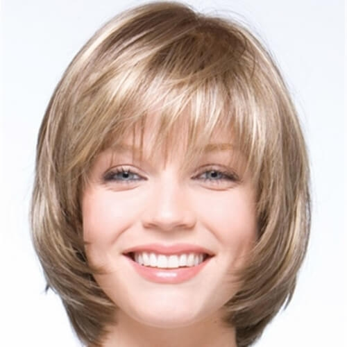 Best 50 perfect short haircuts for round faces hair motive hair Short Hairstyles For Round Faces With Bangs Ideas