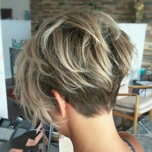 Best 50 wedge haircut ideas for a retro or modern look hair Short Neckline Haircuts Ideas