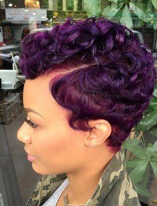 Best 60 great short hairstyles for black women short hair Short Weave Hairstyles For African American Ideas