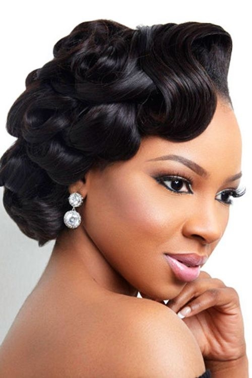 Best 62 appealing prom hairstyles for black girls for 2017 Short Hair Styles For Matric Dance Choices