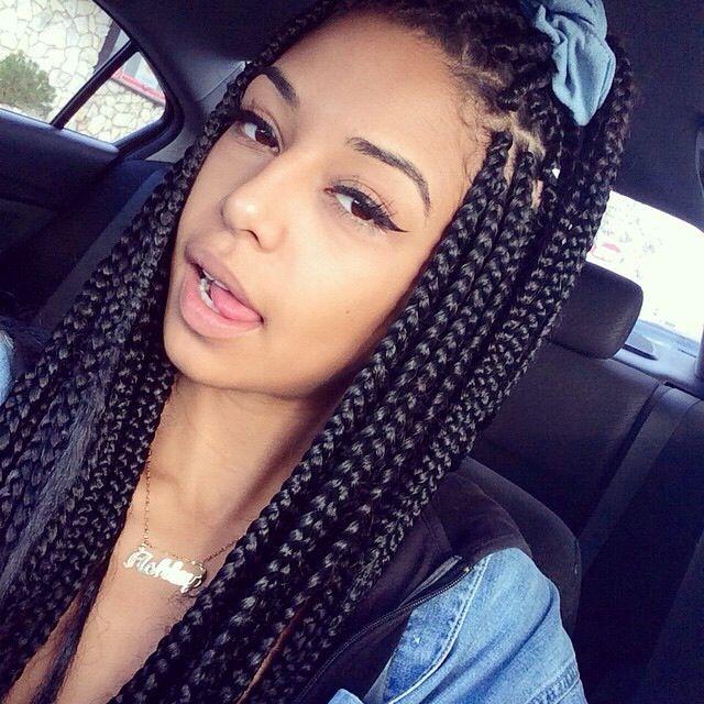 Best 65 box braids hairstyles for black women African American Box Braid Hairstyles Designs