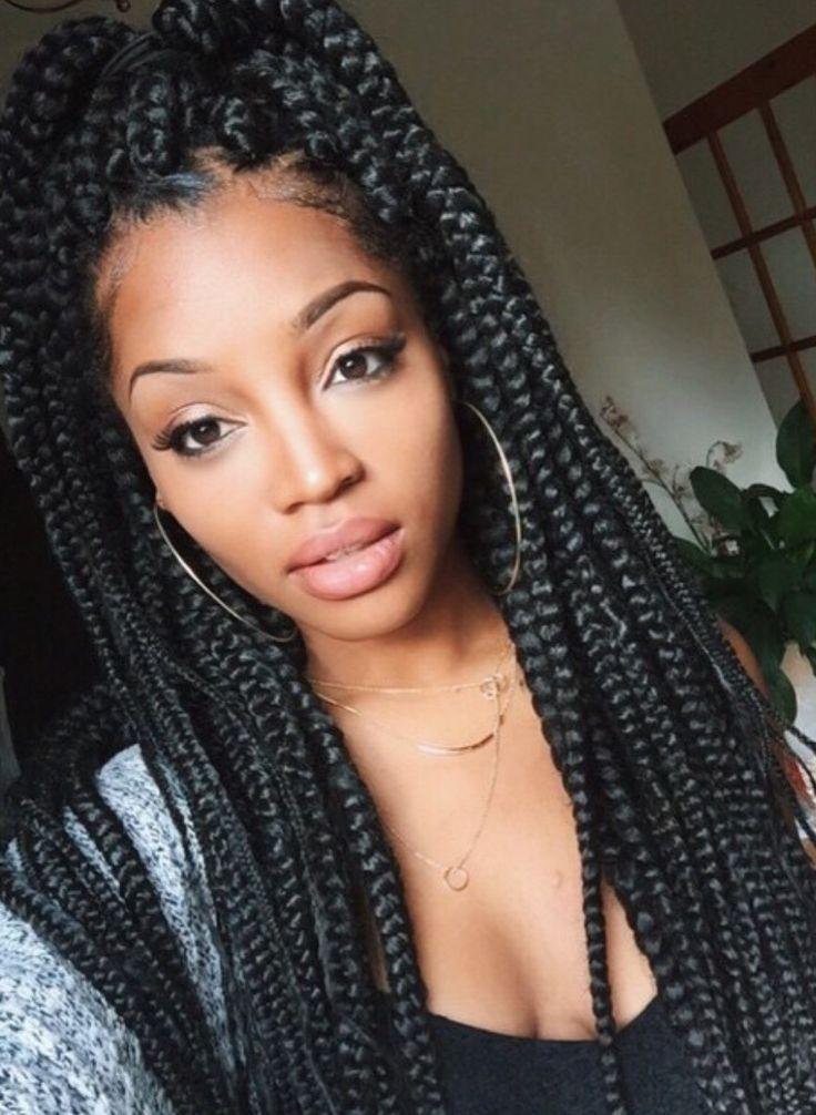 Best 65 box braids hairstyles for black women box braids African American Box Braid Hairstyles Designs